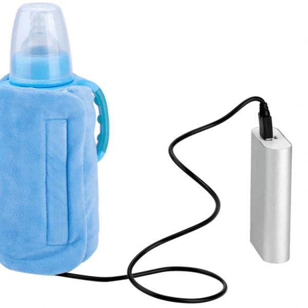 Botella de bebé de USB más caliente de viaje portátil leche infantil