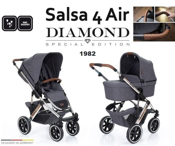 ABC Design Germany Salsa 4 AIR Special Edition Asphalt